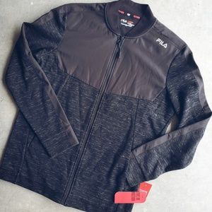 NEW! FILA Sport Black Jacket
